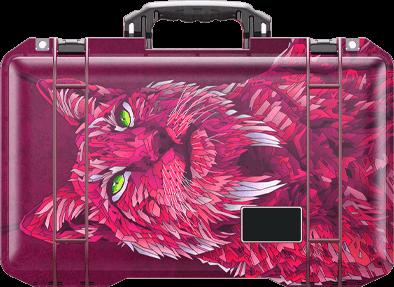 peican special air travel case lynx