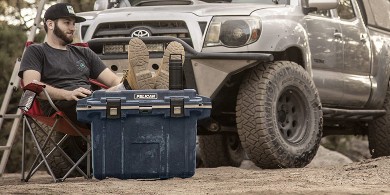 pelican overland cooler collection