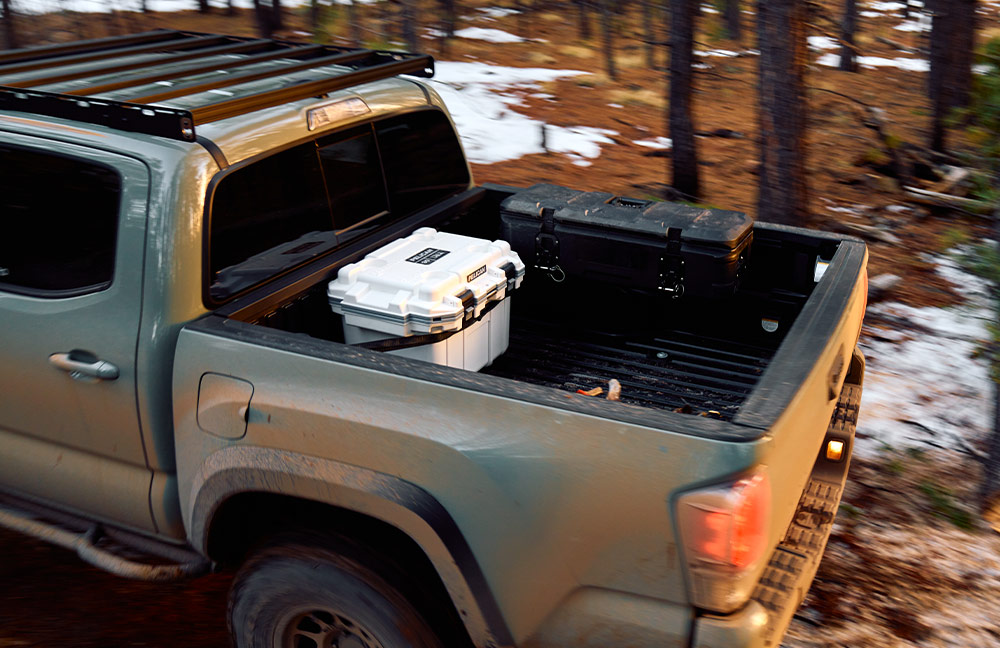 pelican bow hunting cargo truck bed case
