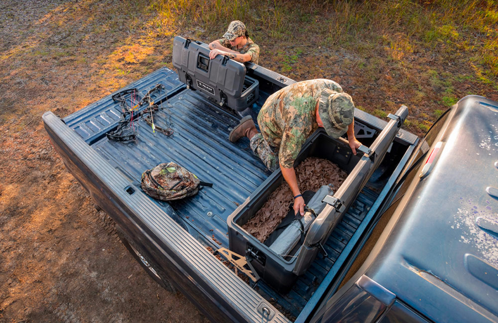 pelican cargo cases bow hunting
