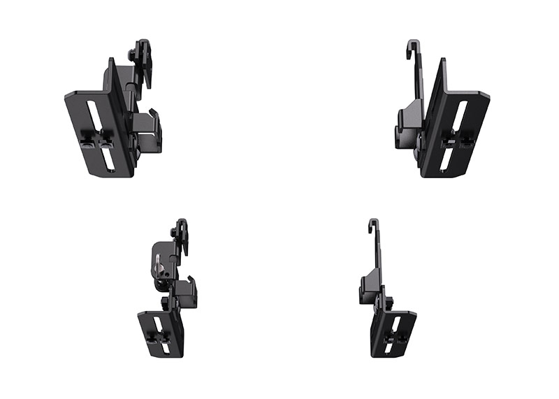pelican roof mounting bracket kit