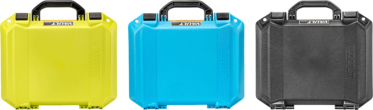 pelican equipment vault color cases