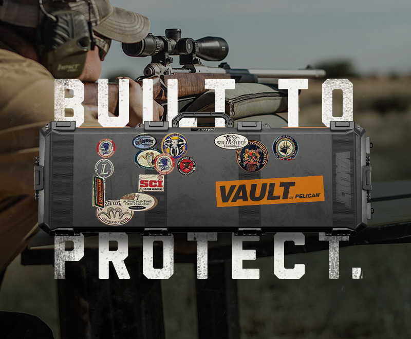 pelican gun protection vault case