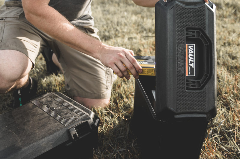 pelican vault ammo top loader case