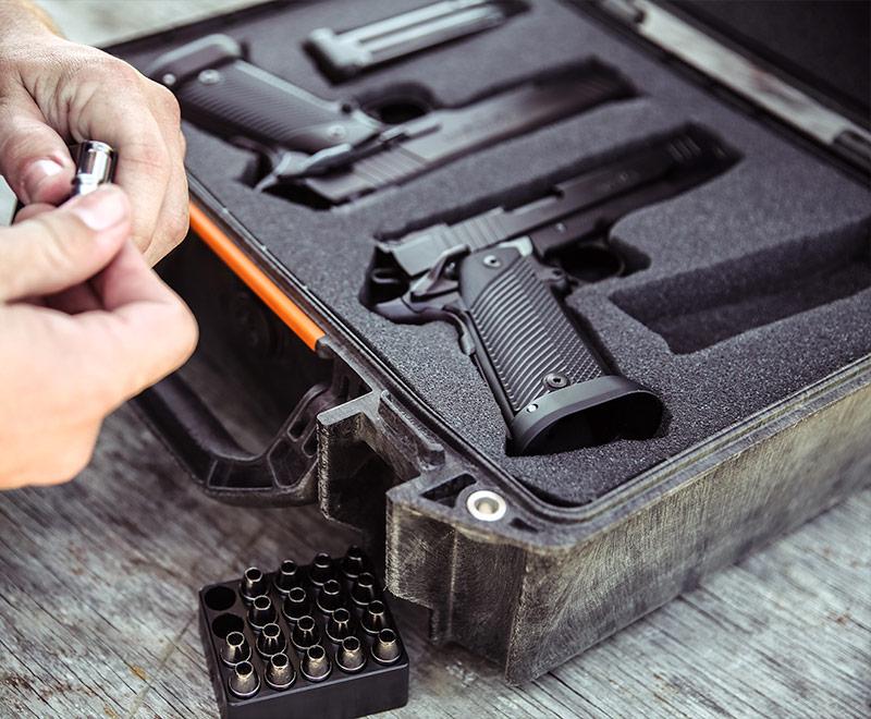 pelican vault pistol magazine handgun case