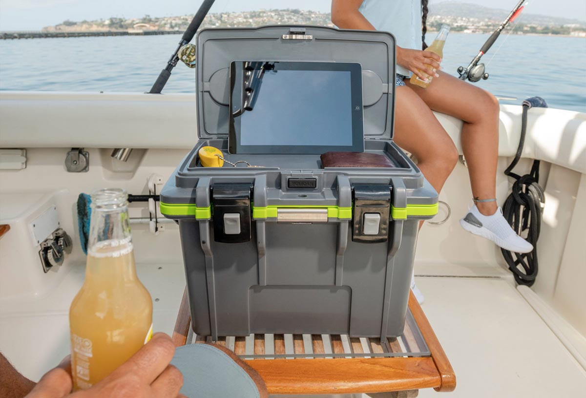 pelican 14qt beach yatch tablet dry cooler