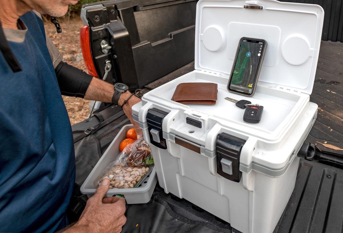 pelican hunting 14qt food vegetable cooler