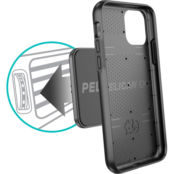 pelican iphone easy vent mount system