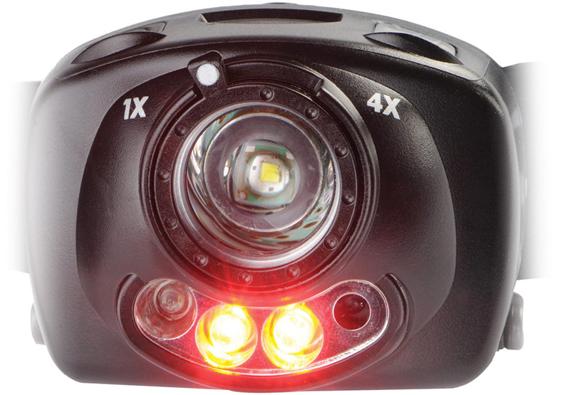 pelican gesture motion activated headlamp