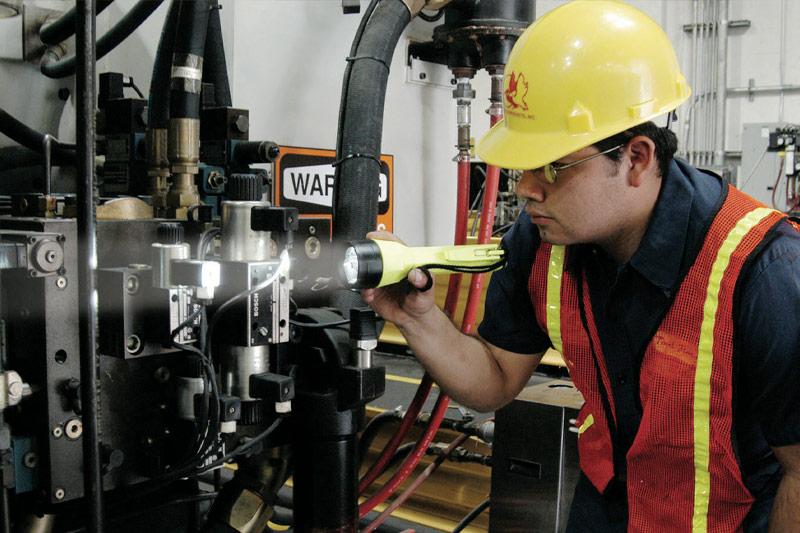 pelican inspection industrial flashlgiht