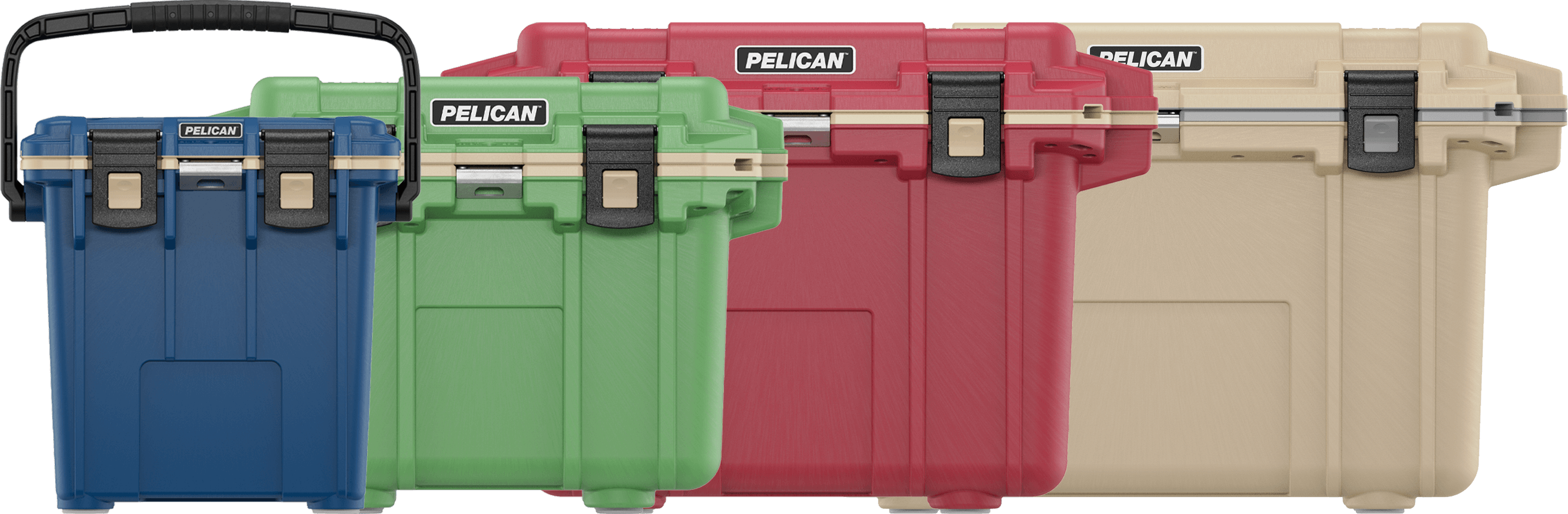 pelican overland colored coolers