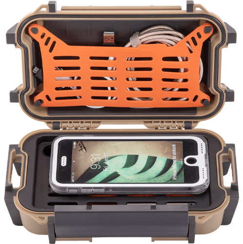pelican phone charger waterproof ruck case