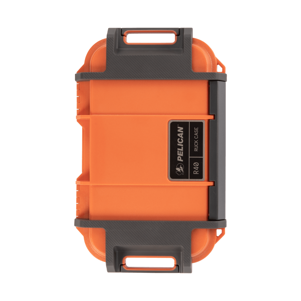 pelican r40 ruck case orange