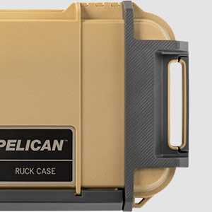 pelican ruberized ruck case tan