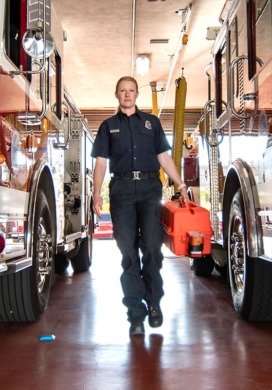 amber anderson firefighter rescue portrait