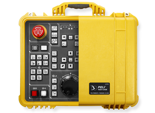 peli protector case electronic panel