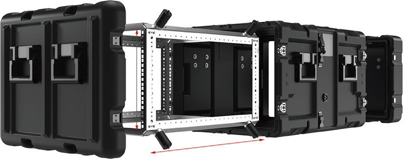 peli configurable rack case