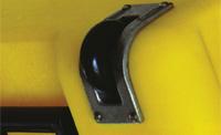 peli rack case edge casters