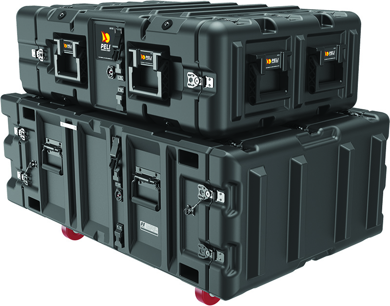 peli v series classic super rack mount cases