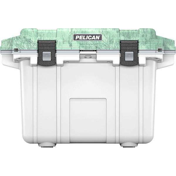 pelican 50qt realtree fish hunting cooler