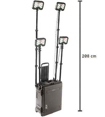 peli 9470 roll-in-the-case remote area light
