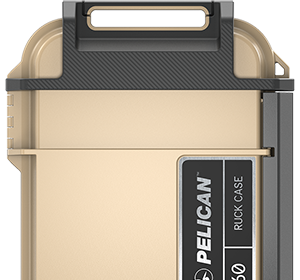 pelican ruck case color tan