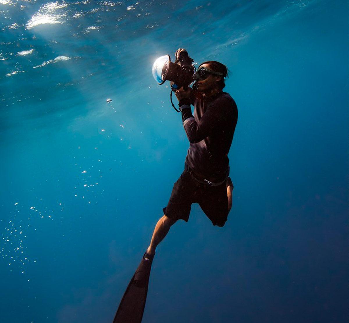 benjamin ono underwater dive photographer