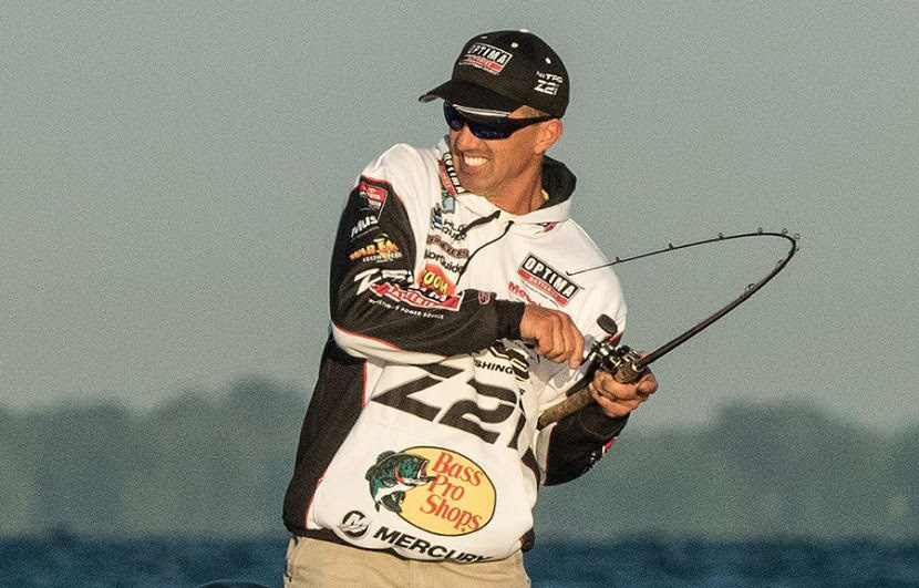 Pelican Products Edwin Evers talala bass winner fishing