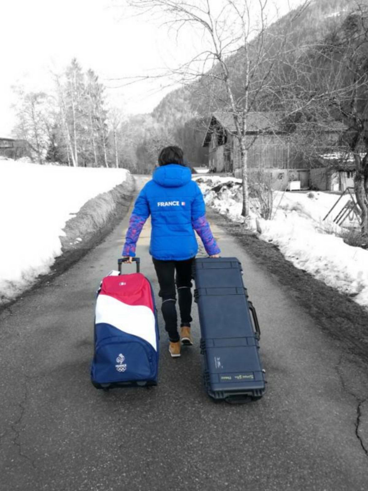 peli pro team julia simon french savoie ski athlete