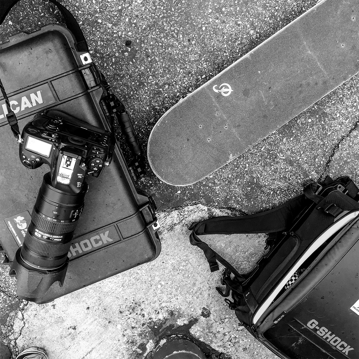 Pelican Products Pablo Vaz pro skating camera cases