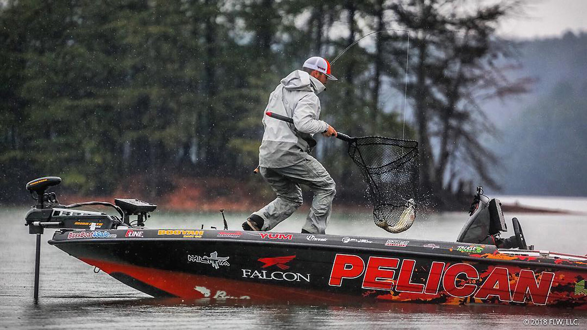 Zack Birge Pelican Products bass fishing pro