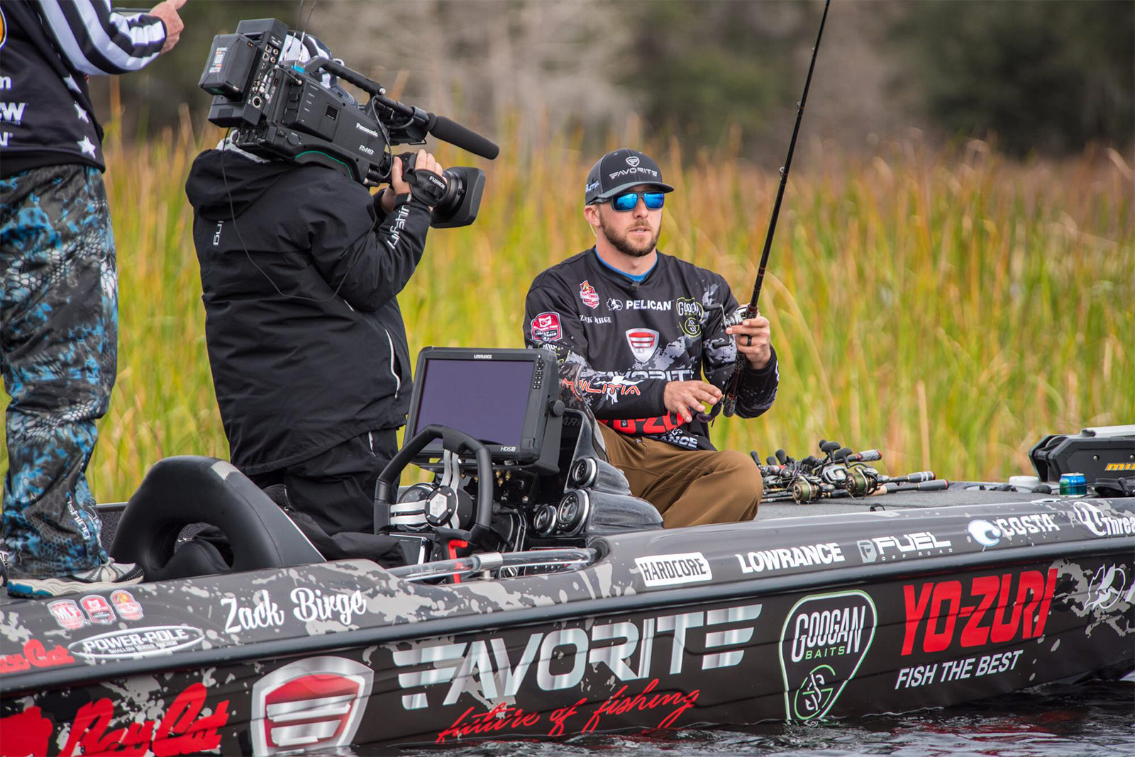 Pelican Products Zack Birge flw award pro bass fishing