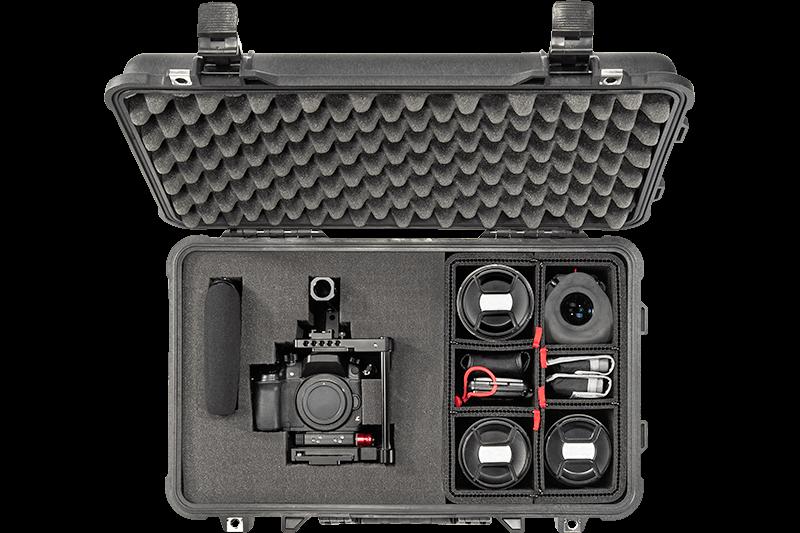 peli hybrid camera case
