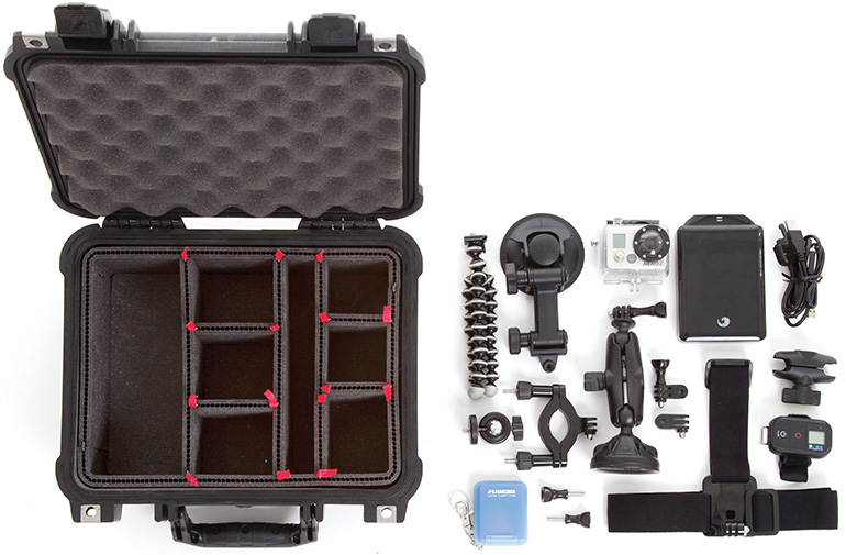 pelican trekpak camera case dividers