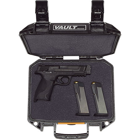 pelican vault v100 pistol dual magazine case