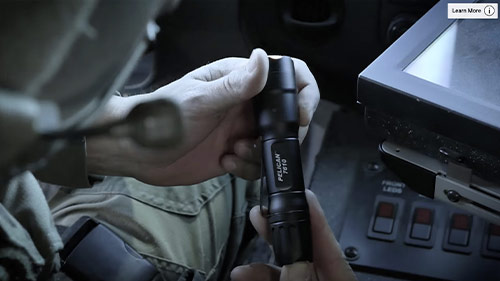 pelican 7 series tactical flashlights video
