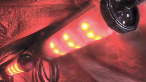 pelican 9500 shelter led light kit video
