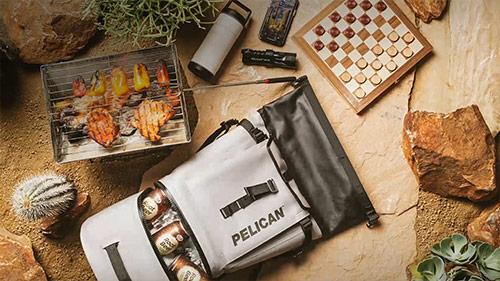 pelican dayventure cooler ice drink backpack
