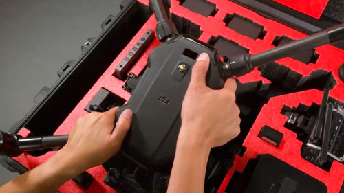 pelican flightline drone series case video