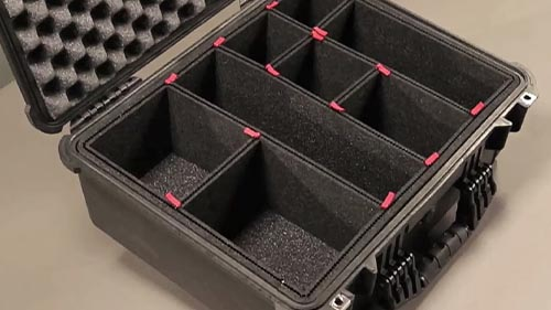 pelican products trekpak case divider system