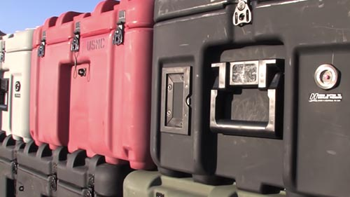 pelican rotomolded isp transport case video