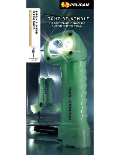 pelican 3410 3415 flashlight brochure