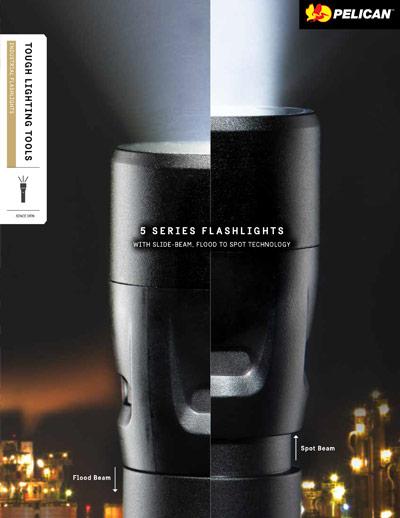 pelican 5 series tactical flashlights