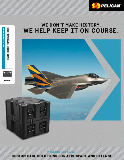 pelican peli products acs for aerospace defense brochure