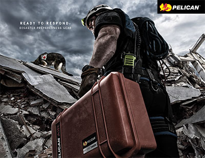pelican disaster preparedness gear first responders