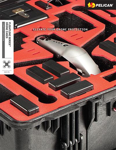 pelican flightline drone case brochure