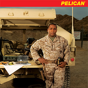 pelican peli products military products weapons cases brochure