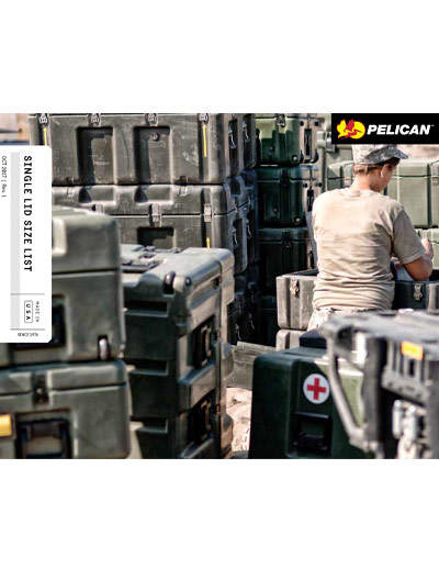 pelican peli products single lid cases catalog