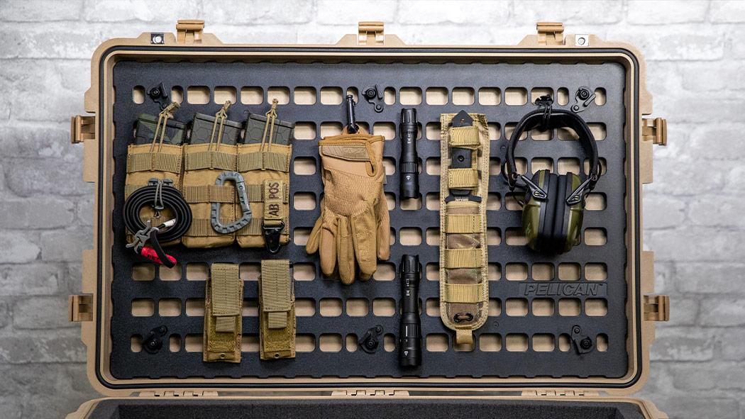 pelican 1650 hardware tool lid organizer case