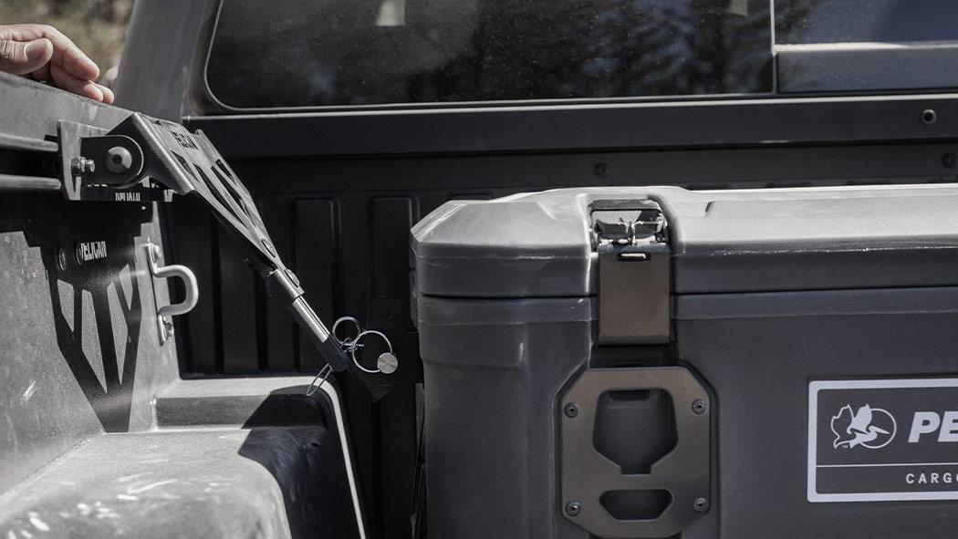 pelican toyota cross bed cargo case mount